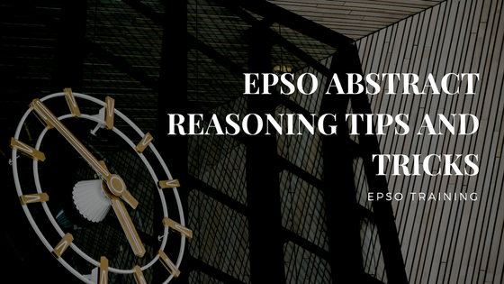 EPSO Abstract Reasoning Tips and Tricks
