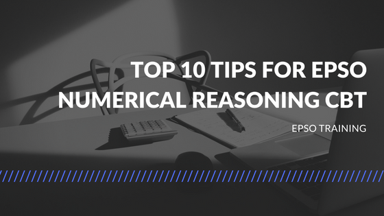 Top 10 Tips for Epso Numerical Reasoning CBT