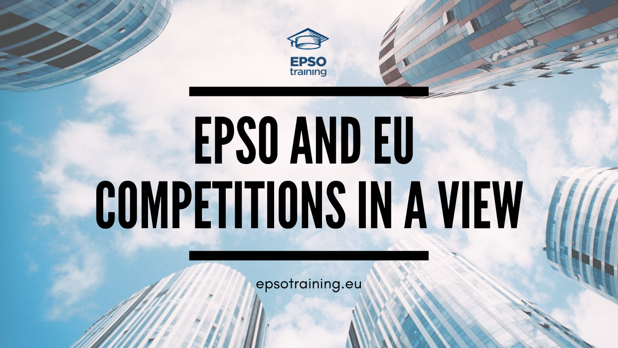 , EPSO and EU Competitions in a View, Epsotraining - EPSO Tests for EU Competitions